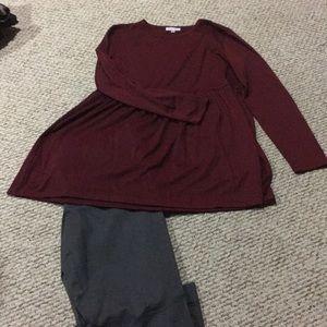 Darling brand maroon shirt. Size XXXL